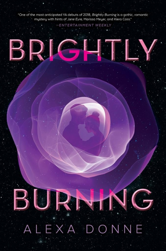 Brightly Burning book cover