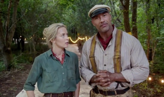 Jungle Cruise Starring Emily Blunt and Dwayne Johnson