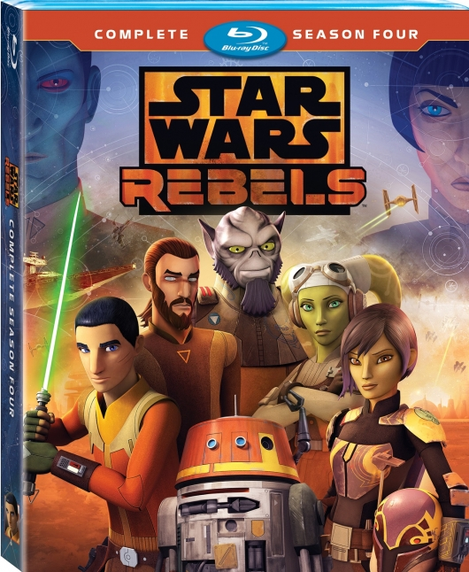 Star Wars Rebels Season 4 Blu-ray Cover