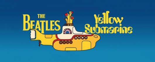 The Beatles Yellow Submarine graphic novel banner