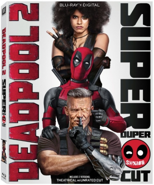 Deadpool 2 Super Duper Cut box art