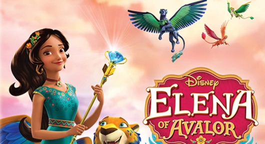 Disney's Elena Of Avalor: Realm Of Jaquins DVD banner