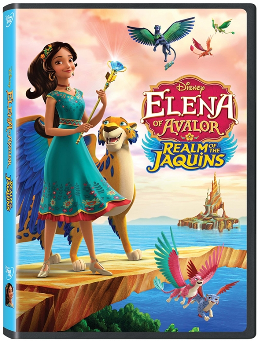 Disney's Elena Of Avalor: Realm Of Jaquins DVD cover