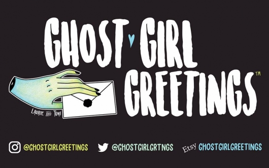 Ghost Girl Greetings header