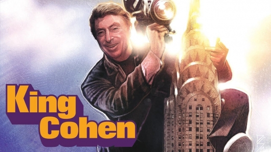 King Cohen movie poster banner