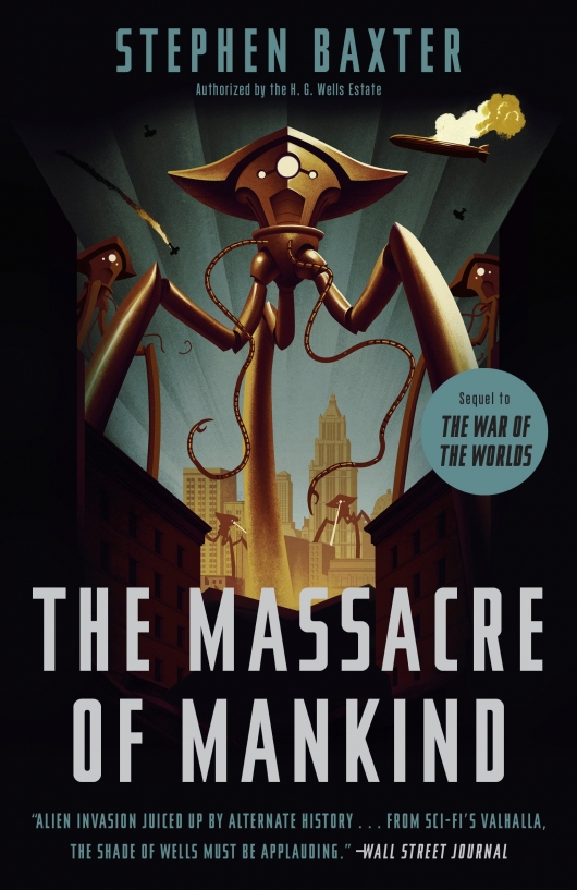 The Massacre Of Mankind: Sequel To The War Of The Worlds paperback edition