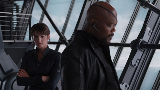 Nick Fury and Maria Hill in The Avengers will join Spider-Man: Far From Home