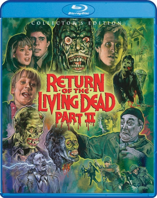Return of the Living Dead Part II (Collector's Edition) Blu-ray Cover Art