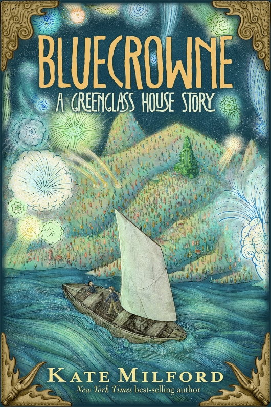 Bluecrowne book cover