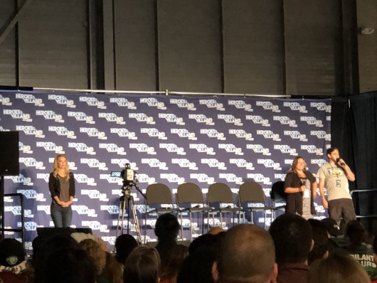 Heroes & Villains Fan Fest 2018: Firestorm panel