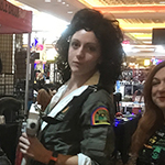 Alien Xenomorph and Ellen Ripley Cosplay