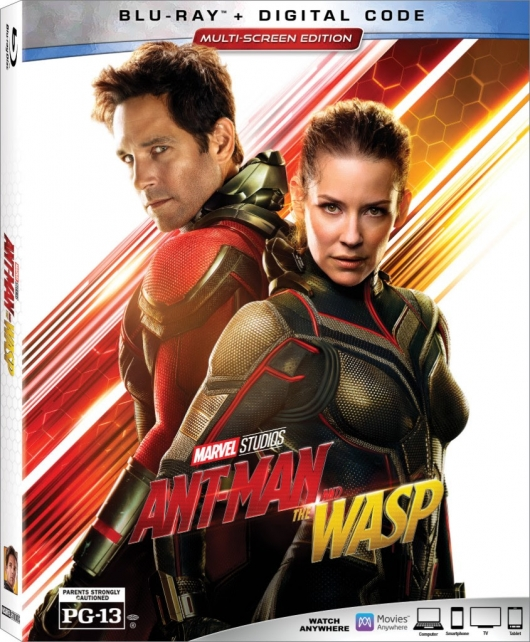 Ant-Man And The Wasp Blu-ray cover
