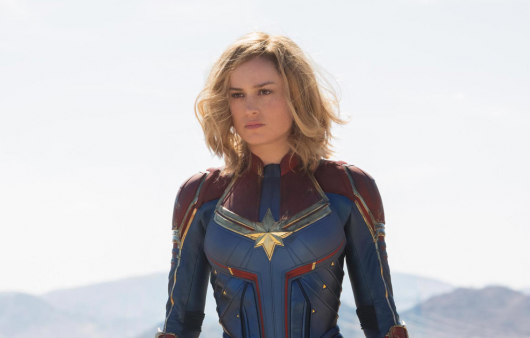Captain Marvel Header Image