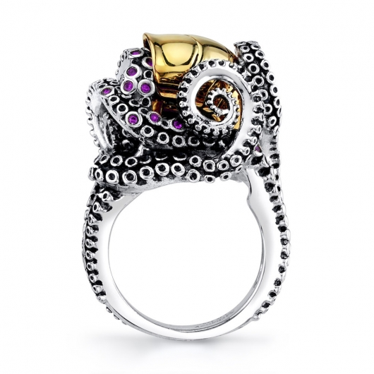 Disney x RockLove Little Mermaid Tentacle Ring