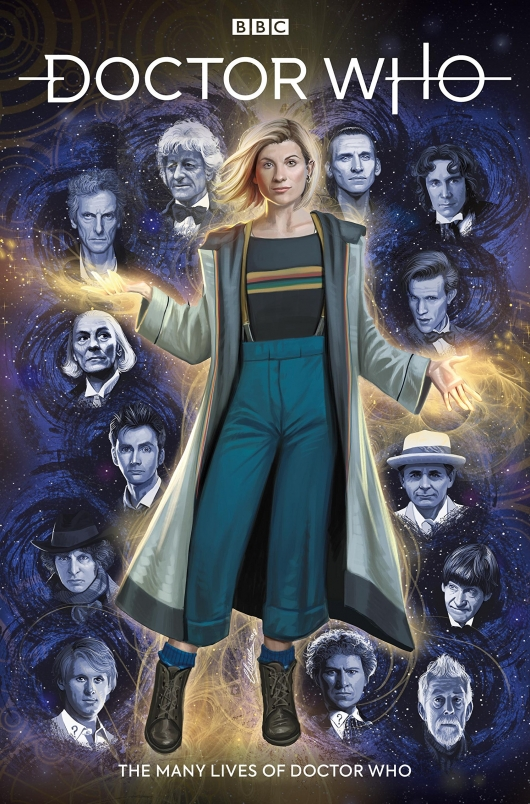 Doctor Who: The Thirteenth Doctor #0 cover Titan Comics