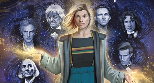 Doctor Who: The Thirteenth Doctor #0 cover banner