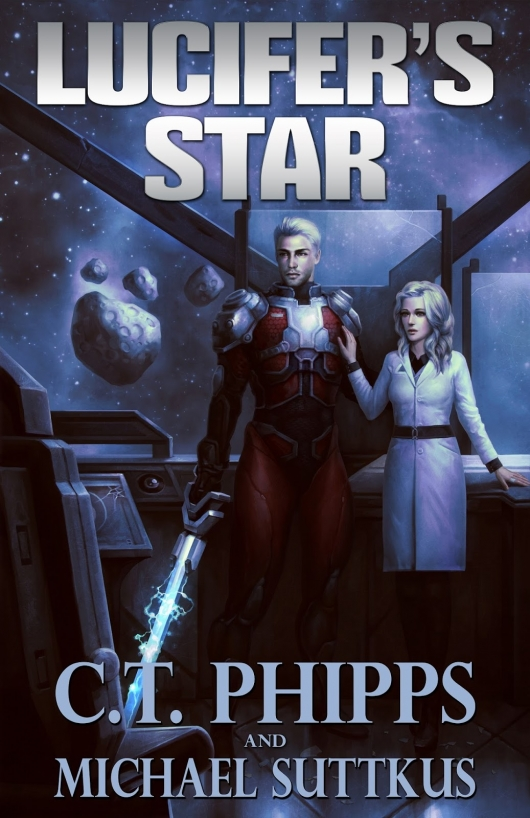 Lucifer's Star By C.T. Phipps And Michael Suttkus Cover