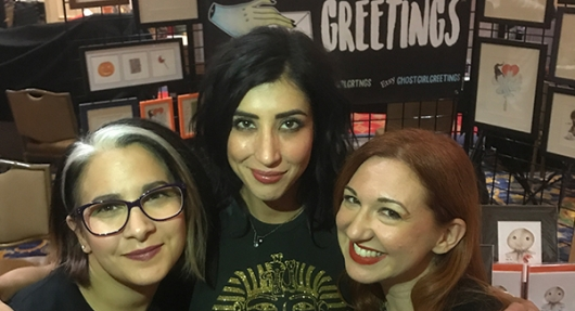 New Jersey Horror Con 2018 Dana DeLorenzo Ghost Girl Greetings