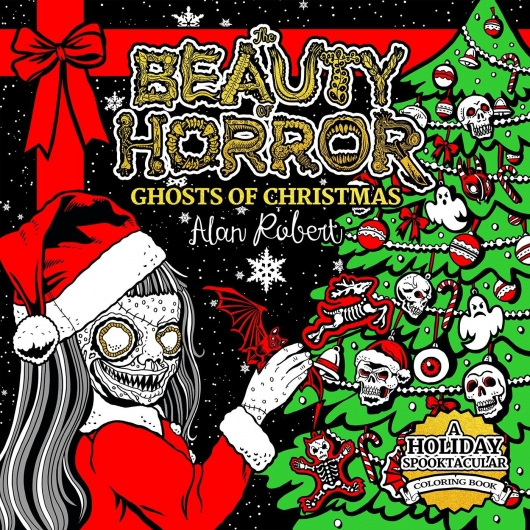 The Beauty of Horror: Ghosts of Christmas cover