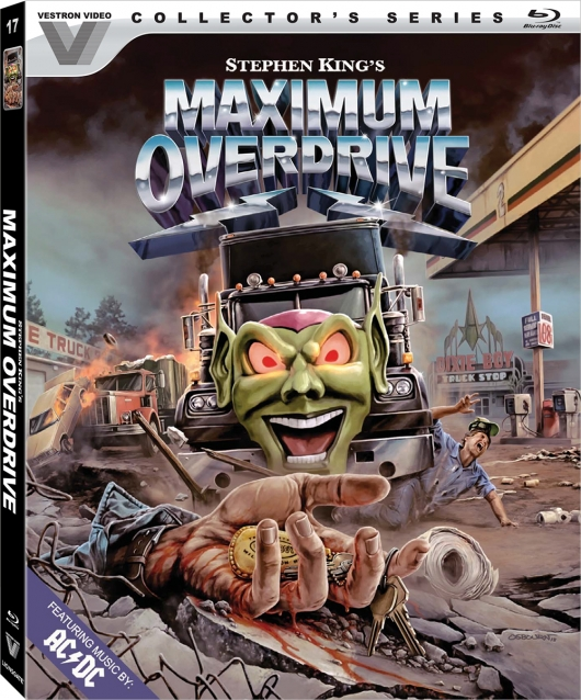 Maximum Overdrive Blu-ray