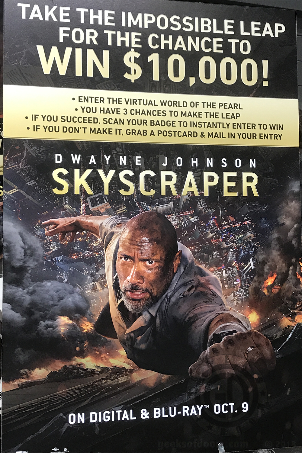 NYCC 2018: Skyscraper: The Impossible Leap VR Experience