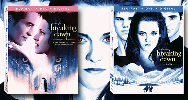 The Twilight Saga: Breaking Dawn Parts 1 & 2 Blu-ray review