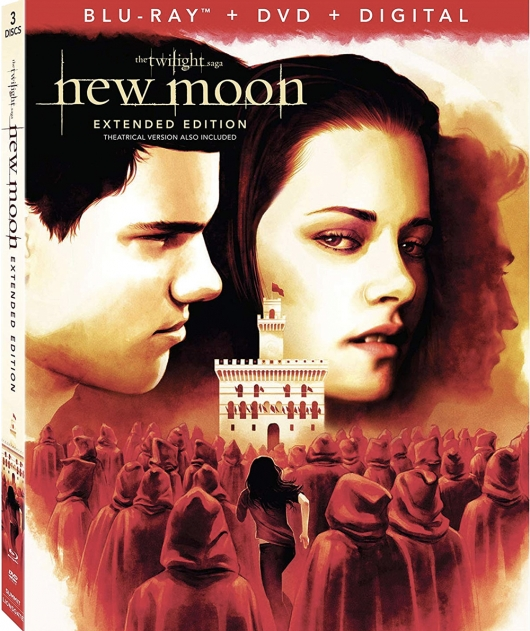 The Twilight Saga: New Moon Extended Edition Blu-ray cover