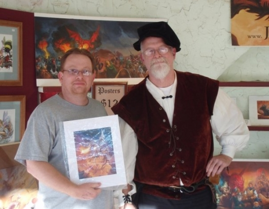 Gary Makries and Jeff Easley at the Texas Renaissance Festival