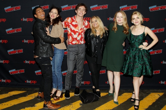 NYCC 2018 Netflix and Chills Panel Chilling Adventures of Sabrina