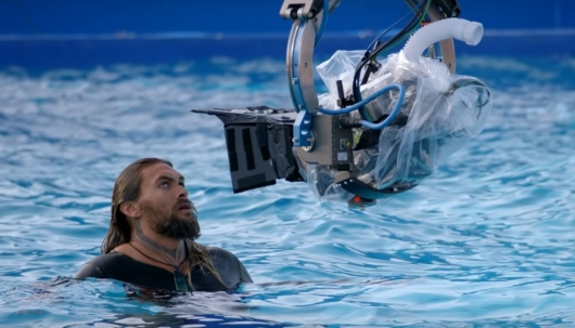 Aquaman Behind The Scenes Video