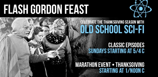 Comet TV Flash Gordon Feast Thanksgiving 2018