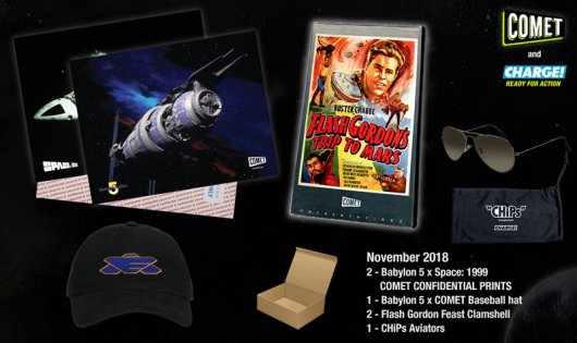 Comet TV and Charge November 2018 Prize Pack