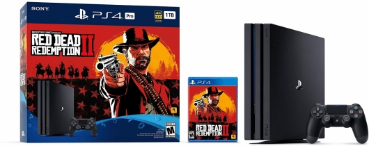 PlayStation 4 Red Dead Redemption 2 Bundle