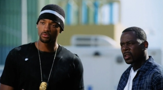 Will Smith and Martin Lawrence In Bad Boys II