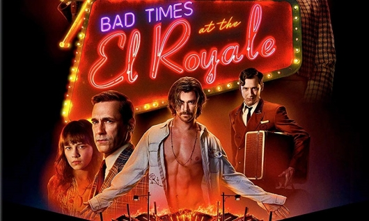 bad times at the el royale available on digital today coming soon to 4k blu ray dvd. Black Bedroom Furniture Sets. Home Design Ideas