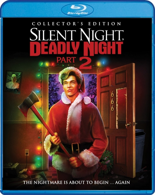 Blu-ray Review: Silent Night, Deadly Night Part 2 (Collector's Edition) Cover Art