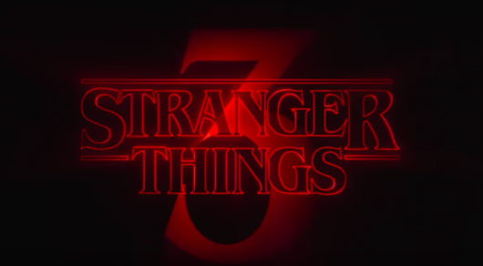 Stranger Things Season 3 Title Banner