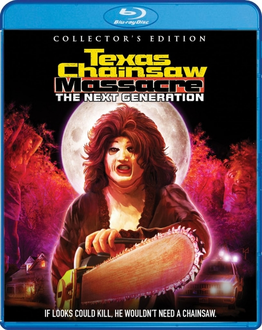 Blu-ray Review: Texas Chainsaw Massacre: The Next Generation (Collector's Edition) Cover Art