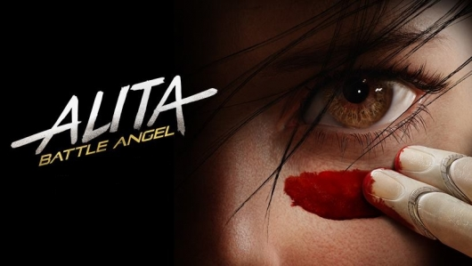 Alita: Battle Angel Banner