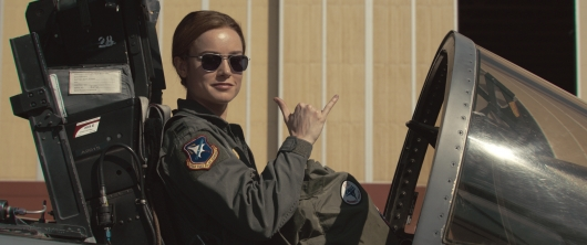Captain Marvel starring Brie Larson