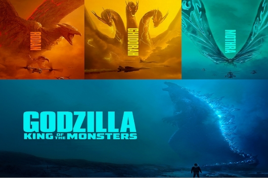 Godzilla: King Of The Monsters Header Image