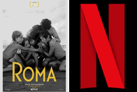 Netflix won awards with Roma image Courtesy of Deadline.com)
