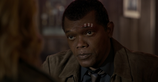 Samuel L. Jackson as Nick Fury in Captain Marvel