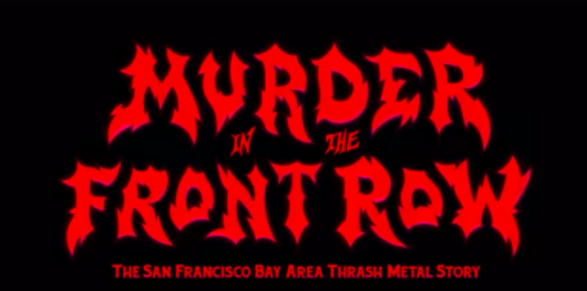 Murder In The Front Row banner