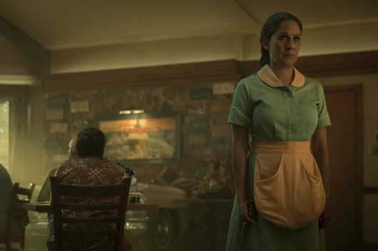 American Gods - Mama-Ji is ever-present where the Hindu community exists.