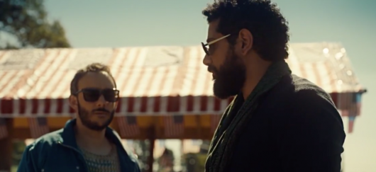 American Gods - Salim and Ifrit in sunglasses
