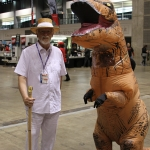 C2E2 2019: Cosplay 18 Jurrasic Park