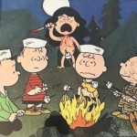 Franks Kids Sleepaway Camp/Charlie Brown Peanuts artwork