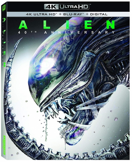 Alien 40th Anniversary 4K Cover Art