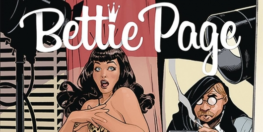 Bettie Page Dynamite Covers Collection header